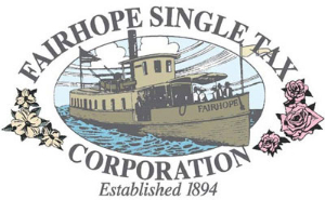 Fairhope single tax colony logo