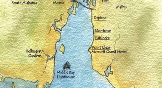 Eastern Shore Map